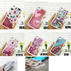 Shockproof Liquid Glitter Quicksand Sparkle TPU Gel Soft Case Cover For Oppo