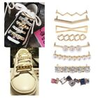 Shoelaces Clips Decorations Charms Faux Pearl Rhinestone Shoes Accessories Gifts
