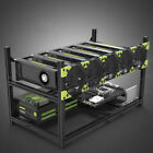 Stackable Layer Crypto Coin Bitcoin Mining GPU Rig Open Air Frame Case Sets
