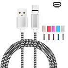 Magnetic Type-C Micro USB Fast Charging Cable Charger For Huawei Mate9 P10 LG