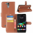 For Oukitel  K6000 Pro Case Leather Filp Cover Slots Wallet Stand Pouch Skin