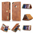 Luxury Genuine Leather Case Wallet Flip Cover Pouch For Huawei Mate P 8/9/10