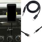 Audio AUX Lead Car Cable Lightning to 3.5mm Jack Connector for iPhone8/X iOS11