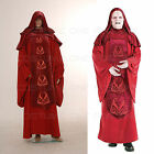 Star Wars Emperor Palpatine Darth Sidius Cosplay Costume Dark Red Robe $153.89 AUD
