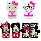 3D Couple Minnie Cartoon Soft Silicone Cover Case For Samsung S6/7/G360/530/NOTE