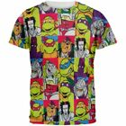 Nickelodean Mens Teenage Mutant Mutant Ninja Turtles AOP Shirt NWT S,M,L,XL