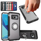 Magnetic Shockproof Hybrid Ring Hard Bumper Case For Samsung Galaxy S7 / S7 Edge