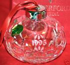 WATERFORD, 1995, 4th EDITION ANNUAL BALL ORNAMENT, MINT IN BOX, FREE SHIPPING