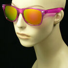 Sunglasses new retro vintage style men women frame horn rim hipster blocking