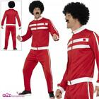 Mens 80s Scouser Tracksuit Adult 118 Retro Trackie Outfit Fancy Dress Costume