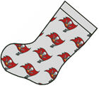 Cross stitch chart, Pattern, Tampa Bay Buccaneers, NFL, Christmas Stocking, xmas