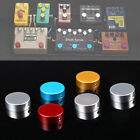 Musical Electric Guitar Pedal Foot Nail Cap Foot Switch Knob With Wrench &Screw