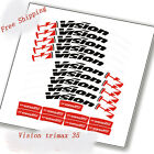 Vision m35 trimax Road Bike Bicycle Carbon Wheel Stickers rim 35 mm depth Decals