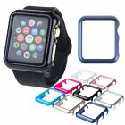 For Apple Watch Case Protector Cover iWatch 38/42mm Bumper+Tempered Glass Flim