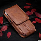 New Universal PU Leather Case Cover Pouch Bag Belt Clip Loop Holster For Leagoo