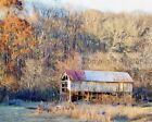 Tri-Cities Tennessee BARN Photo ARTography (Photo Artograph only) 5x7 or 8x10
