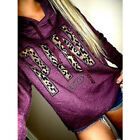 Women's Fashion Casual Hoodie Pullover Sweatshirt Sweater Hooded Coat Jumper #CA