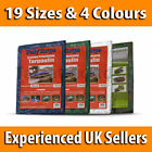 19 Sizes Waterproof Tarpaulin Ground Sheet Lightweight Camping Cover Tarp New