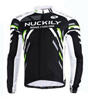 Long Sleeve Bike Bicycle Jersey Shirts Men's Vintage Cycling Jersey Top M-XXL