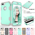 Full Body Protective Hybrid Shockproof Rubber Kid Case Cover For iPhone 8 8 Plus