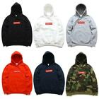 SUPREME HOODIE Sweaters  UNISEX LOGO All Colors EMBROIDERED NEW With TAG