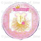 First 1st Birthday Girls Pink & Gold Party Supplies Tableware & Decorations