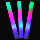1/5/12Stk LED Party Stick 48 cm Leuchtstab Schaumstoff Party Konzert Glowstick~
