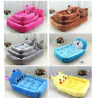 Puppy Dog Pet Soft Sofa Bed Kennel Warm Mat Pad House Cushion Couch New S-XL