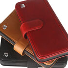 New Pierre Cardin For Apple iPhone X Genuine Leather Case Cover Wallet Card Slot
