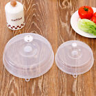 Microwave Plate Topper Cover Food Dish Steam Vent Splatter Lid Kitchen Cooking