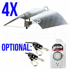 4x Adjust A Wing Large Reflector Series w/ Cord Grow Light Optional Rope + Timer
