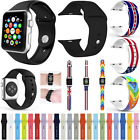 NEW Sports Silicone Replacement Strap Wrist Band For APPle Watch iWatch 38/42 MM