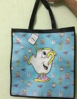 Womens Ladies Brand New Chip cup beauty and the beast tote bag Primark