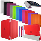 iPad Case 360 Free FRONT COVER Smart Stand Magnetic For Apple iPad Mini 1 2 3