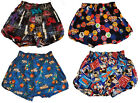 I-CURVES childrens stylish boys fashion themed character boxer shorts 6-7years