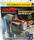 Air Dragon As Seen on TV Portable Air Compressor w/ built-in LED light Tire Pump