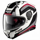 NOLAN CASQUE INTEGRAL N87 ARKAD N-COM METAL WHITE RED GREY
