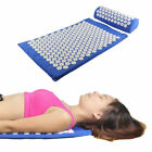 acupressure pillows - Acupressure Mat and Pillow Set for Back/Neck/Joint Pain Muscle Relief Relaxation