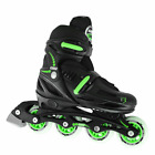 Crazy 148 Kids Adjustable Inline Roller Skate Blades - Adjusts 4 Sizes