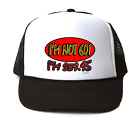 Trucker Hat Cap Foam Mesh 60th Birthday I'm Not 60 I'm $59.95  Funny Gift