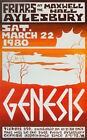 GENESIS Concert Poster - Giclee Reproduction Full Colour Wall Art Print
