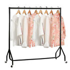HEAVY DUTY GARMENT RAIL CLOTHES HOME SHOP DISPLAY 4ft 5ft 6ft