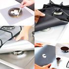 4Pcs Reusable Gas Stove Top Burner Protector Liner Pad Cover Kitchen Cleaning