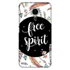 The Free Spirit HARD Protector Case Snap On Slim Phone Cover Accessory