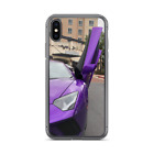 Purple Lamborghini Aventador S Case for 7/8 7/8 plus and X
