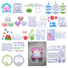 Carbon Steel Metal Cutting Dies Stencil Scrapbooking Embossing DIY Craft Card
