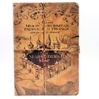 harry potter standing - Harry Potter Marauder's Map Hogwarts Leather Stand Case Cover For iPad 9.7 2017