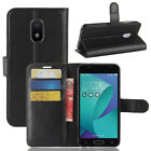 For Asus ZenFone V Live LTE V500K Case PU Leather Flip Magnet Wallet Pouch Cover