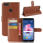 "For Huawei Enjoy 7S 5.65"" Case PU Leather Flip magnet Slots Wallet Pouch Cover"