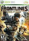 Frontlines Fuel of War Xbox 360 Game Only